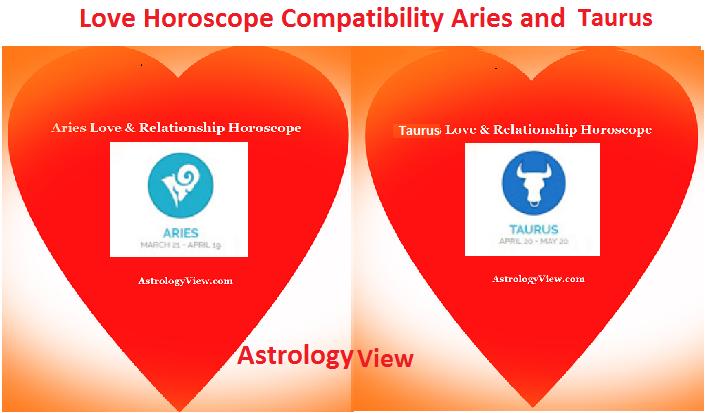 Aries and Taurus