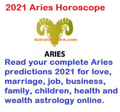 2021 Aries Horoscope