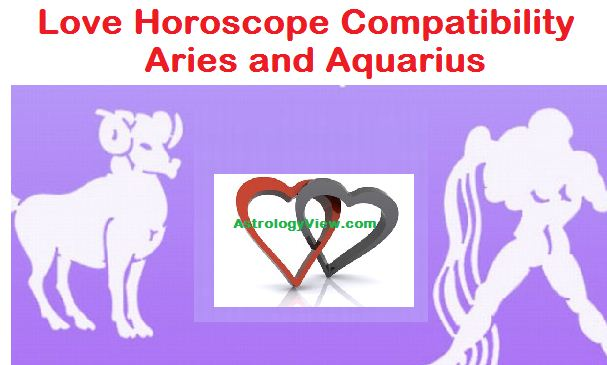 Love Horoscope Compatibility Aries and Aquarius