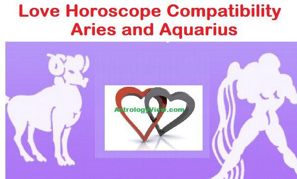 Love Horoscope Compatibility Aries and Aquarius