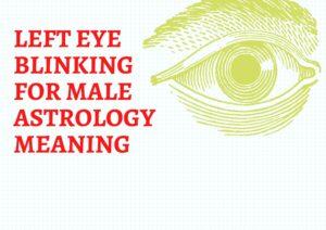 left eye blinking for male